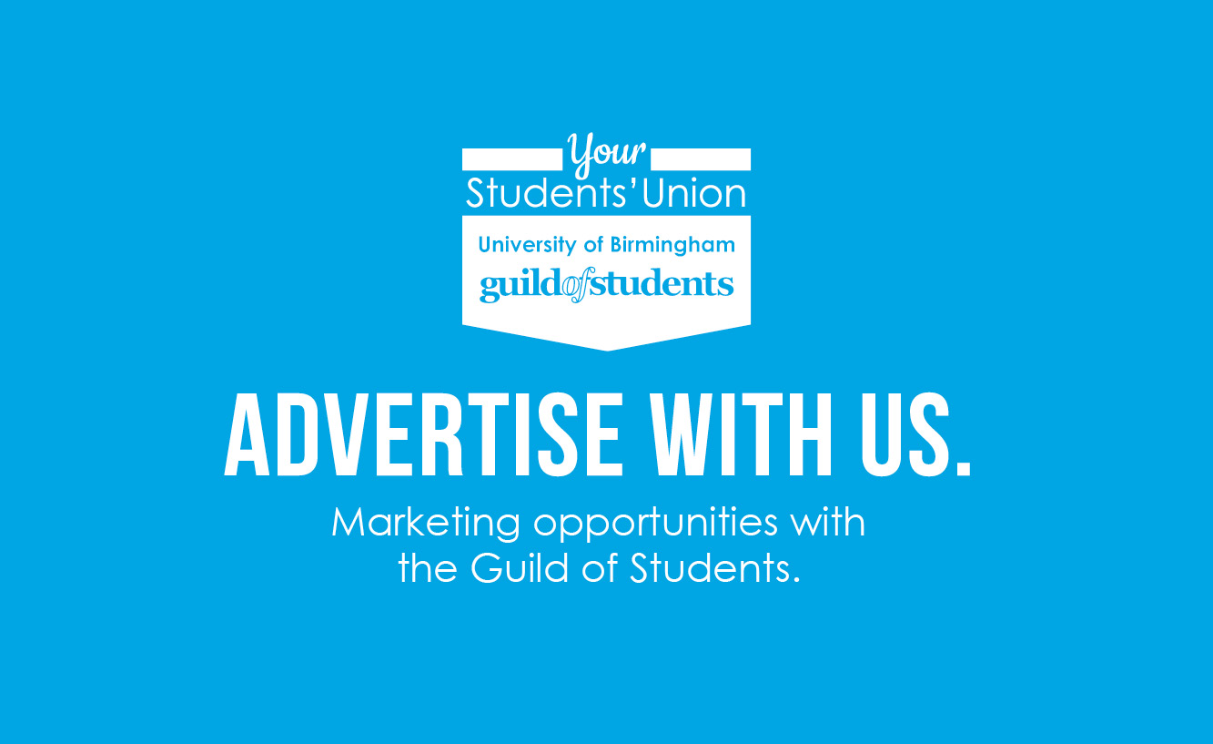 Advertise with The Guild of Students - click here