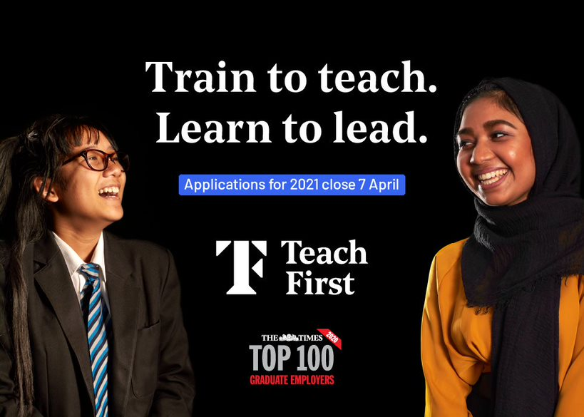 Teach First Ad