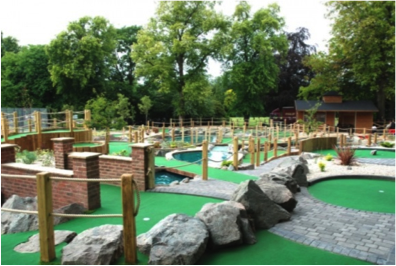 mini golf in cannon hill park