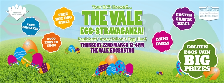 The RA's Vale Egg-Stravaganza