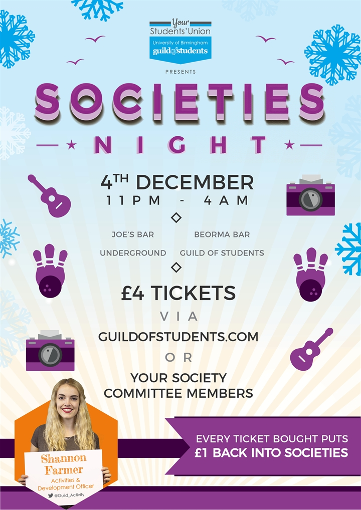 Societies Night