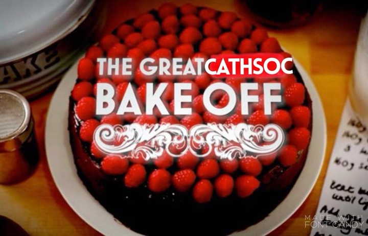 The Great CathSoc Bake Off