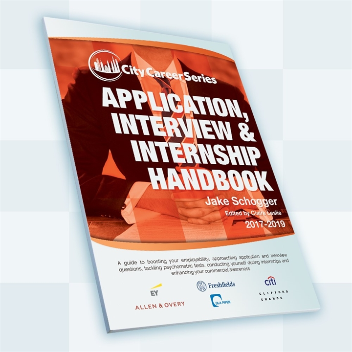 City Career Series Application Book