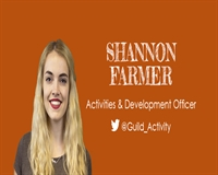 Shannon Farmer - Activities and Development Officer