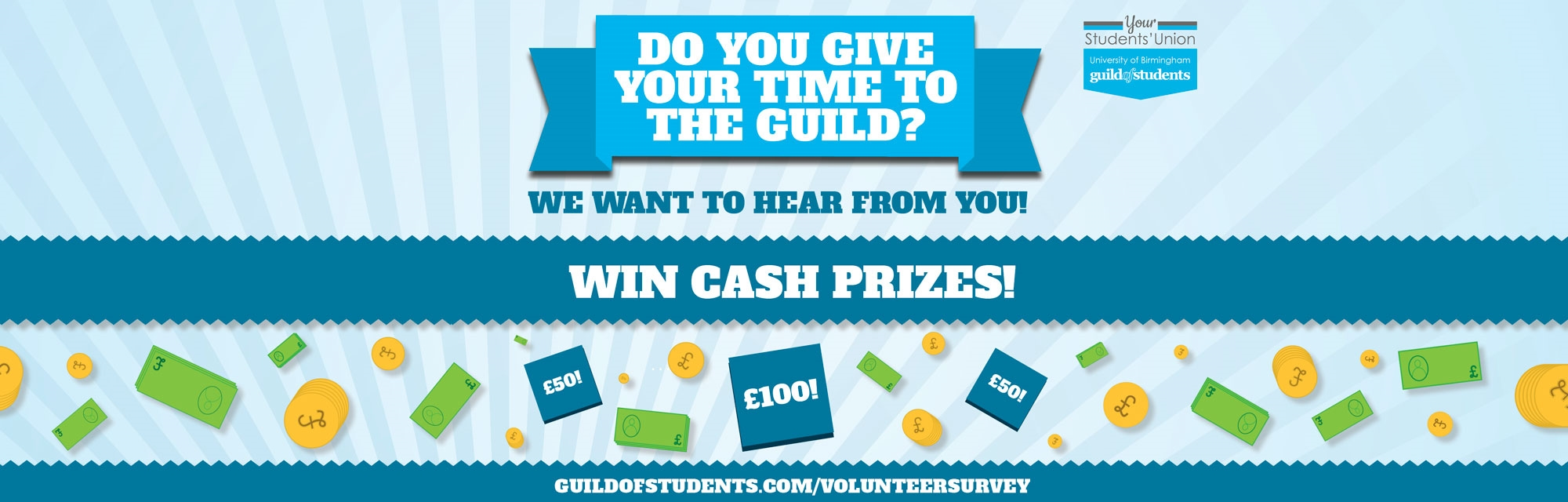 Do you give your time to the Guild?We want to hear from you! Click here for more information