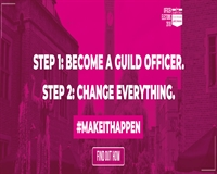 Step 1 - become a Guild Officer. Step 2- Change everything #makeithappen