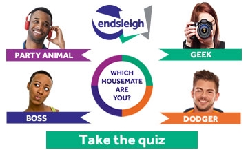 Party Animal, Geek, Boss, Dodger. Which housemate are you? Take the quiz.