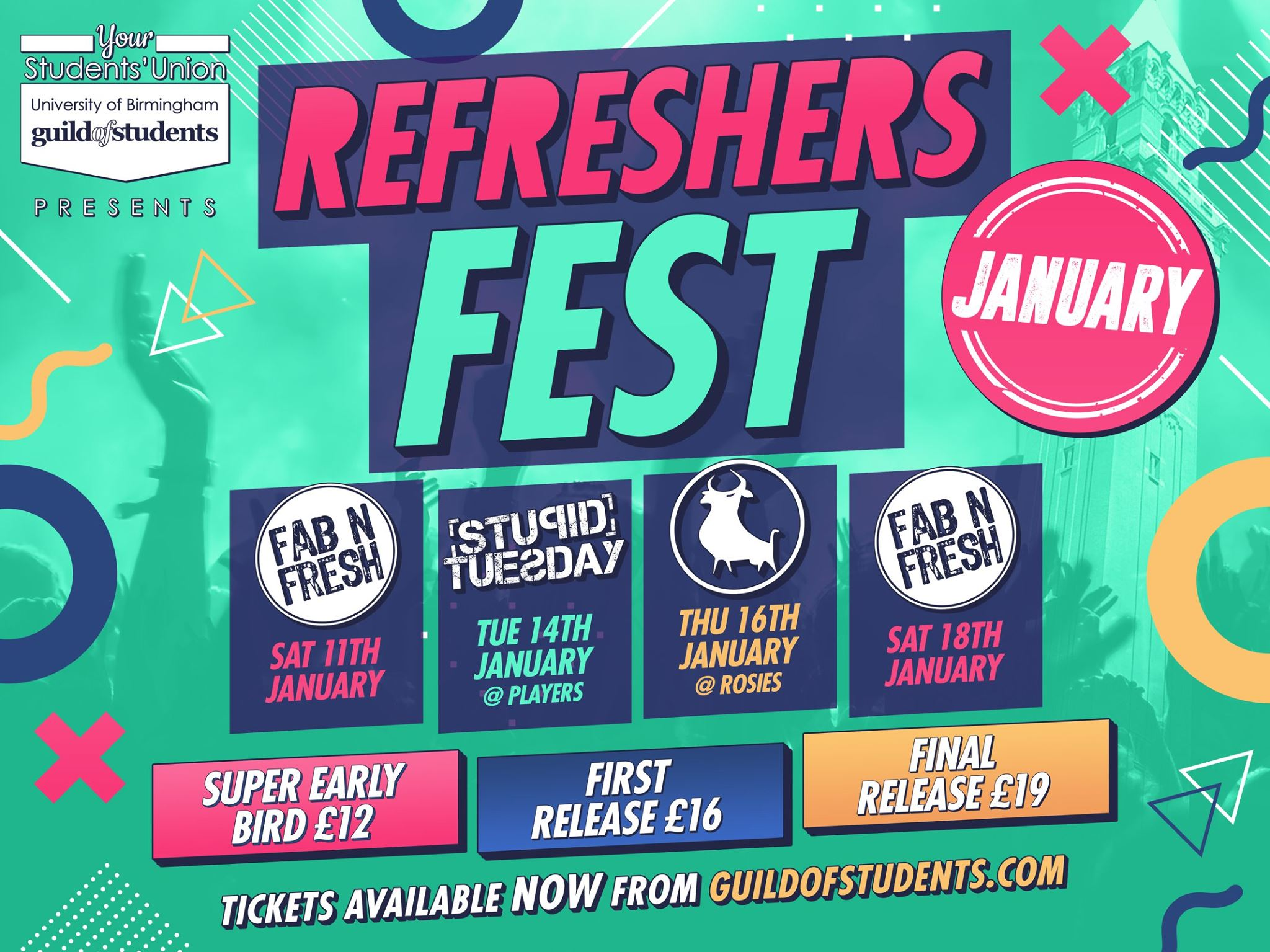 Refreshers Fest