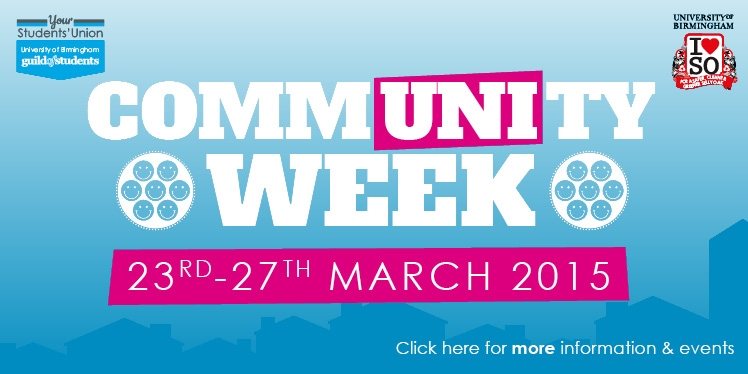 Community Week, 23rd-27th March 2015