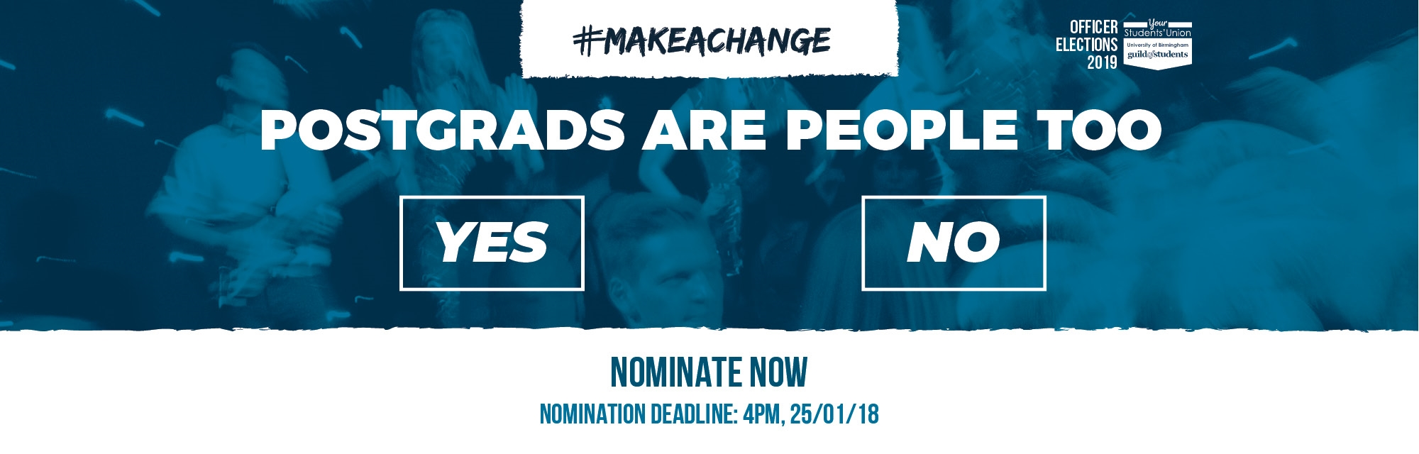 #makeachange - Postgrads are people too - Nominate Now