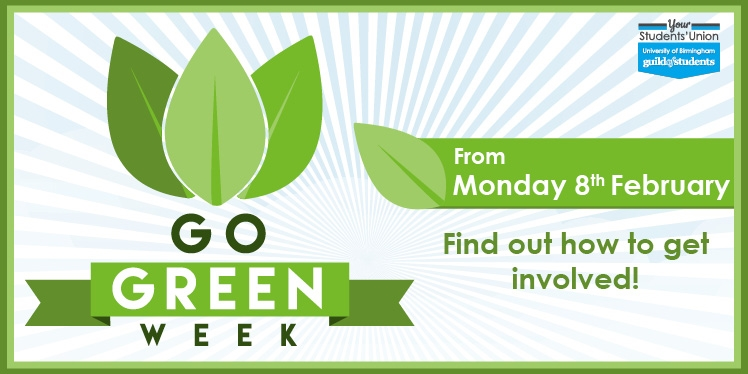 go green week starts 8th February