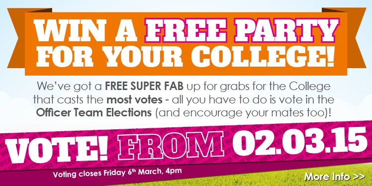 Win a free party for yout college! We've got a free Super FAB up for grabs for the college that cast