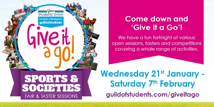 Come down and 'Give it a Go'! We have a fun fortnight of various open sessions, tasters and competit