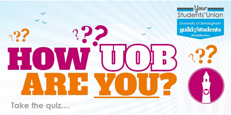 How UOB are you? Take the quiz...