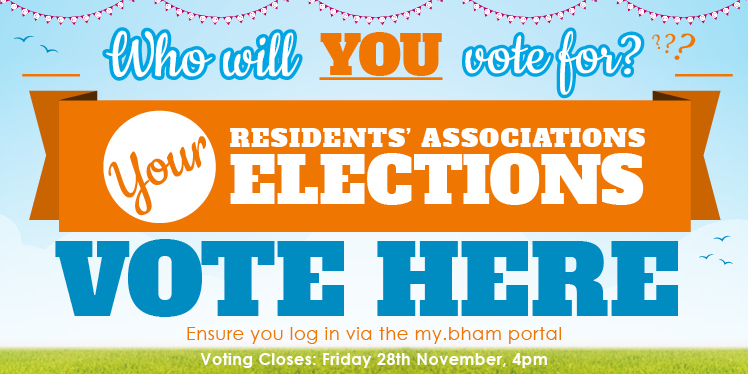 Who will you vote for? Your Residents' Associations Elections. Vote Here! Ensure you log in via the