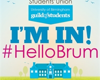 I'm in. Welcome to your Students' Union
