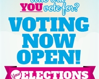 Who will you vote for? Voting Now Open! Your elections