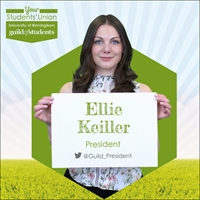Picture shows Ellie Keiller, Guild President