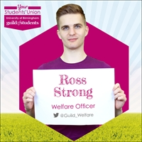 Ross Strong, Welfare Officer, @guild_welfare