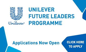 Unilever Future Leaders Programme, applications now open