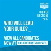 Who will lead your Guild? View all candidates now at www.guildofstudents.com/vote