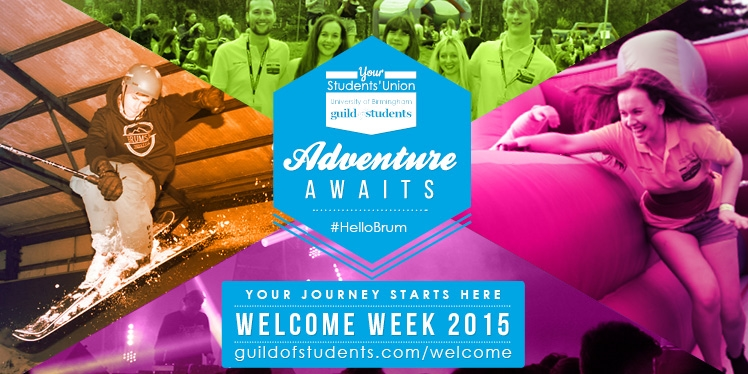 Welcome Week 2015 Adventure Awaits