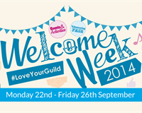 Welcome Week 2014 - Monday 22nd - Friday 26th September
