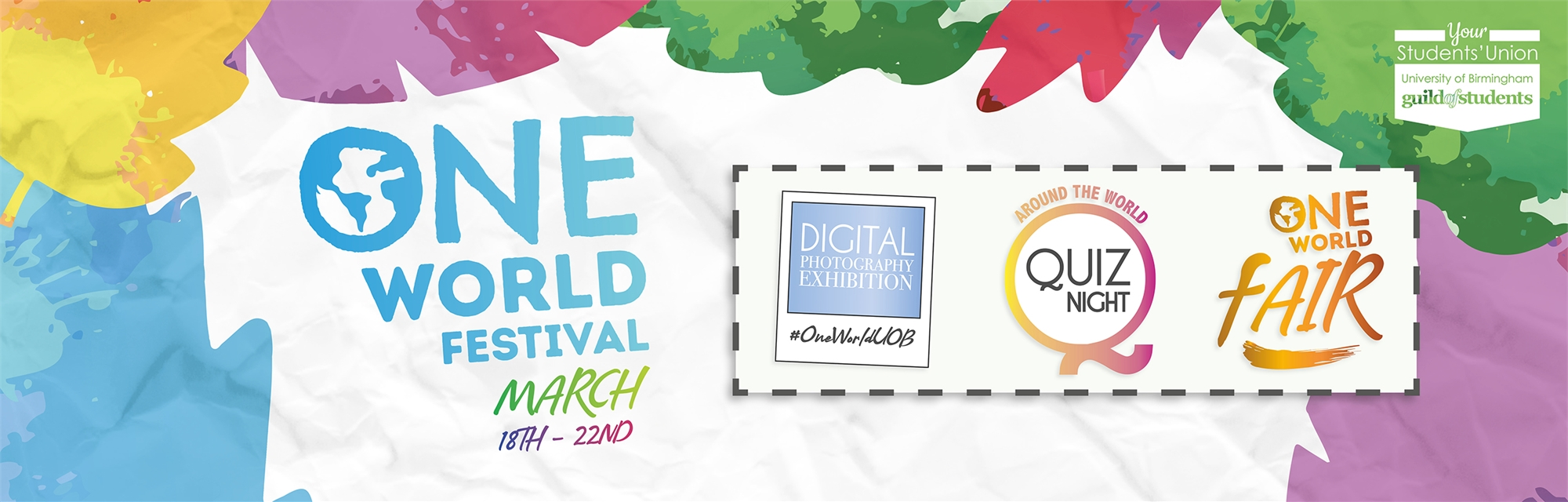 One World Festival - March 18th - 22nd 2019