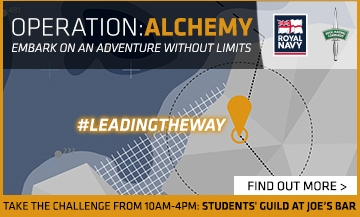 Operation: Alchemy. Embark on an adventure without limits. Royal Navy #leadingthe way. Find out more