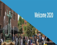 Welcome 2020 - Web banner