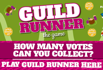 Guild Runner the game. How many votes can you collect? Play Guild Runner here
