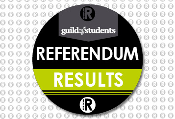 Guild of Students. Referendum Results