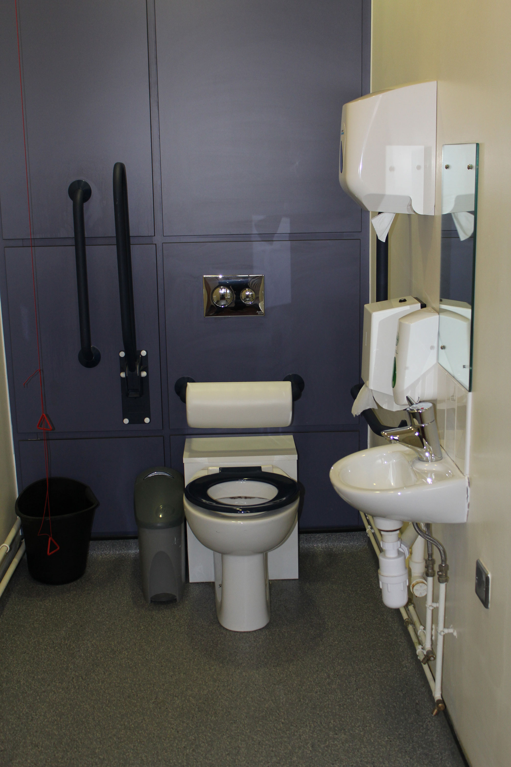 Image 1st floor disabled toilet facilities