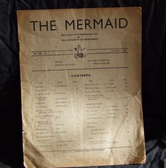 Image - The mermaid magazine with list of contents