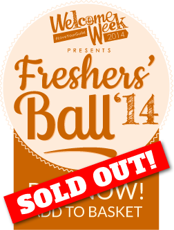 Welocme Week 2014 presents Freshers' Ball 14