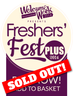 Welocme Week 2014 presents Freshers' Fest Plus 14
