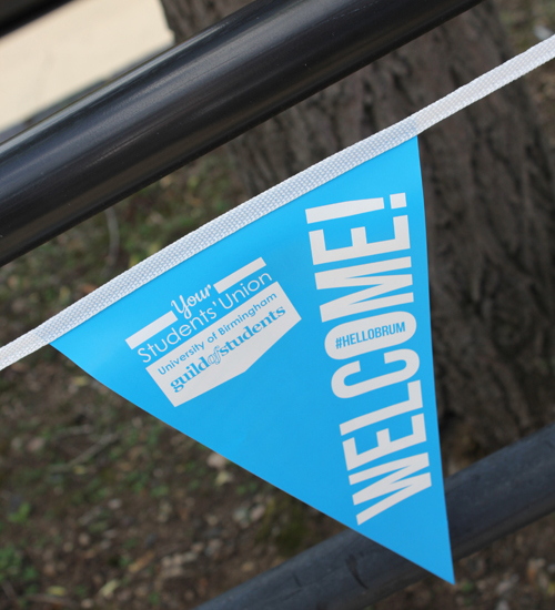 Welcome Week Bunting - Guild of Students
