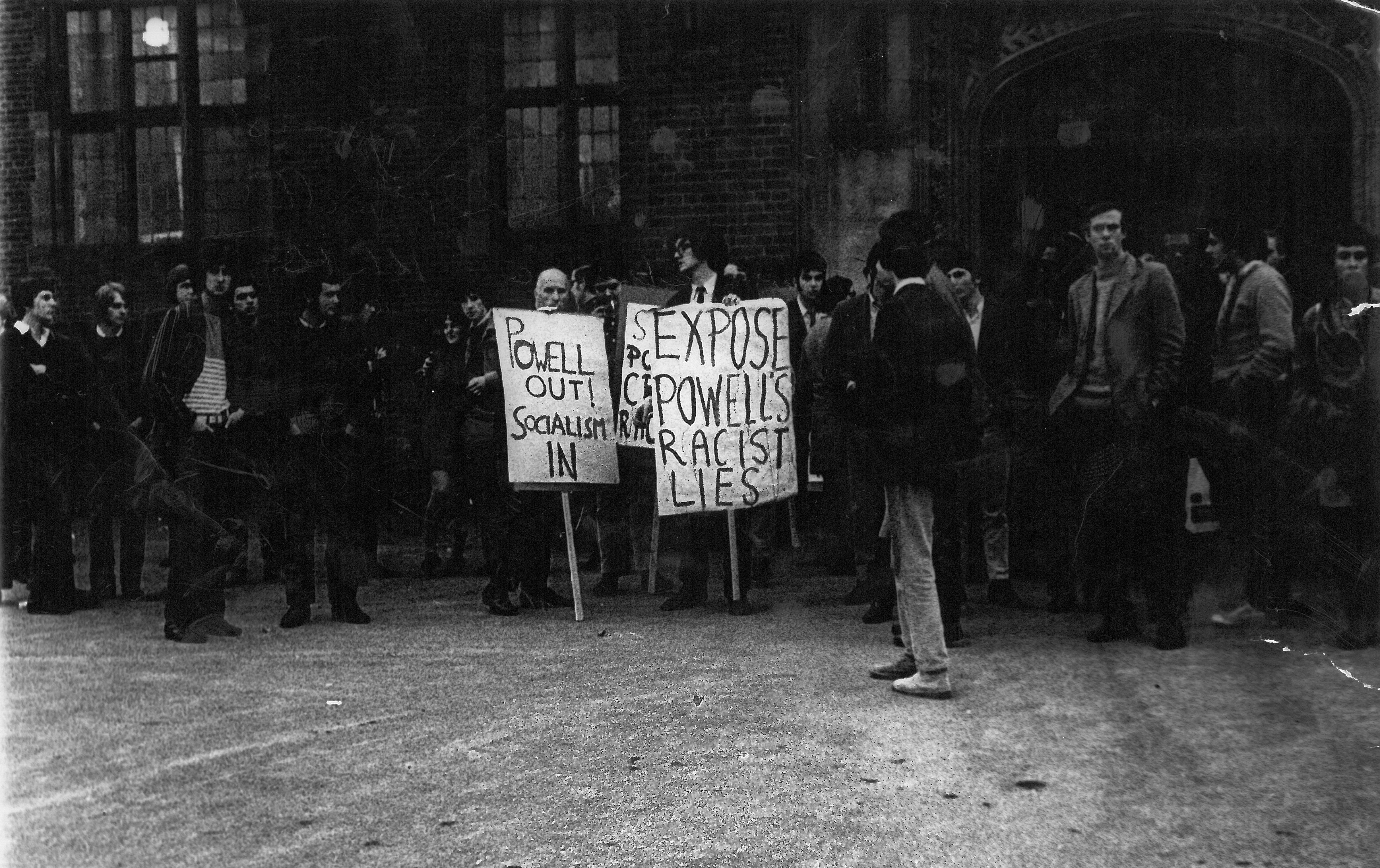 Image - The Guild protests Enoch Powell's 'Rivers of Blood' speech