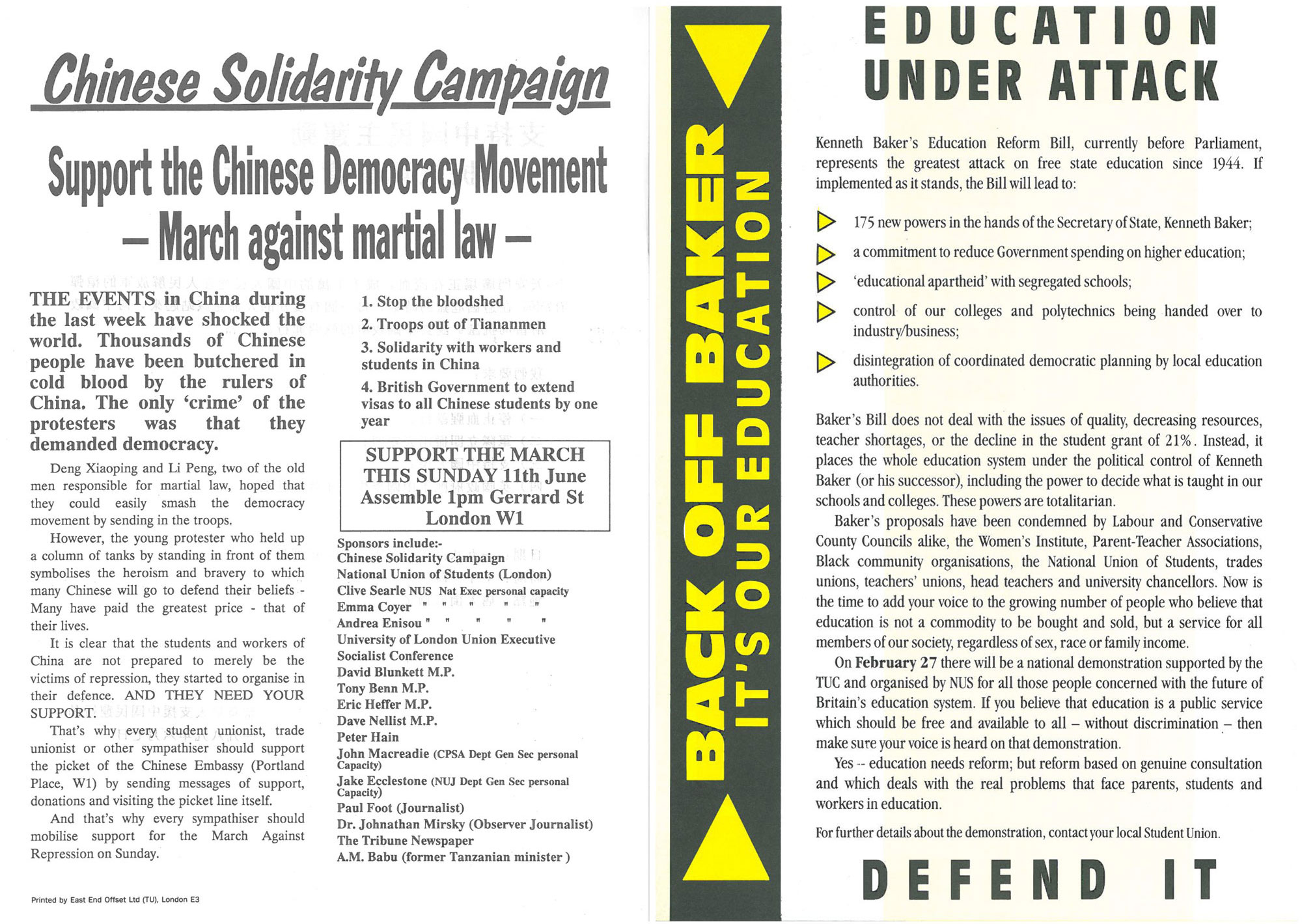 Image - Chinese solidarity campaign 1989