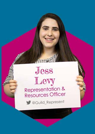 Jess Levy - Representation & Resources Full Time Officer