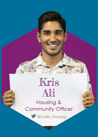 Kris Ali - Housing & Community Full Time Officer