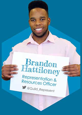 Brandon Hattiloney - Representation & Resources Officer 2016-17