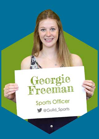 Georgie Freeman - Sports Officer 2016-17