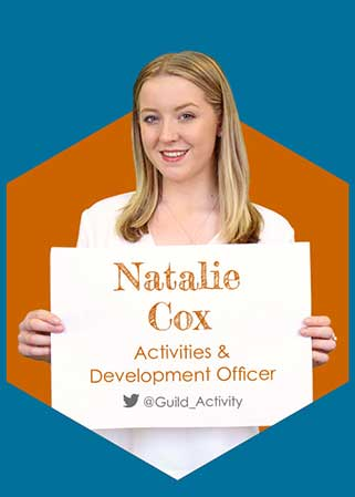 Natalie Cox - Activities & Development Officer 2016-17