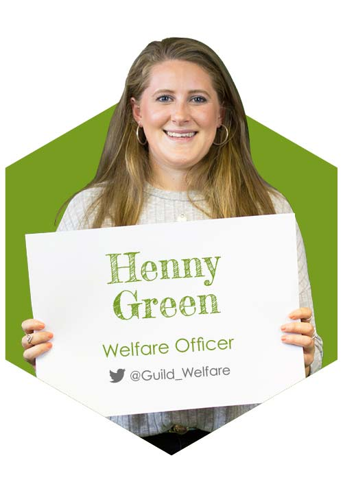 Henny Green - Welfare Officer 2017-18