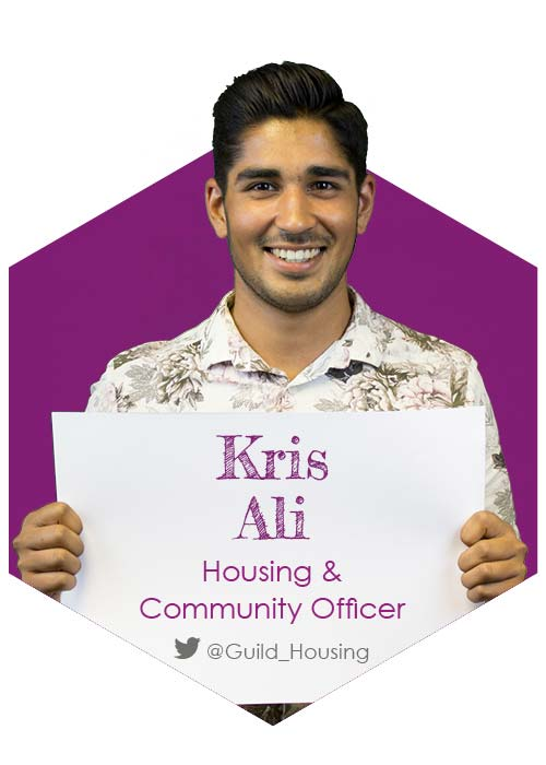 Kris Ali - Housing & Community Officer 2017-18