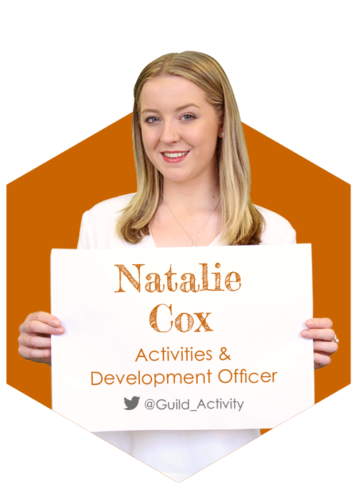 Natalie Cox - Activities & Development Officer