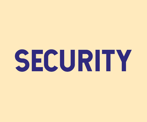 Security - student staff recruitment page icon