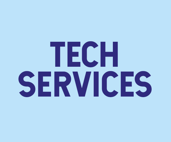 Tech Services - student staff recruitment page icon
