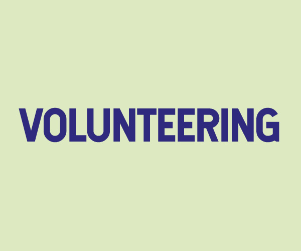 Volunteering - student staff recruitment page icon